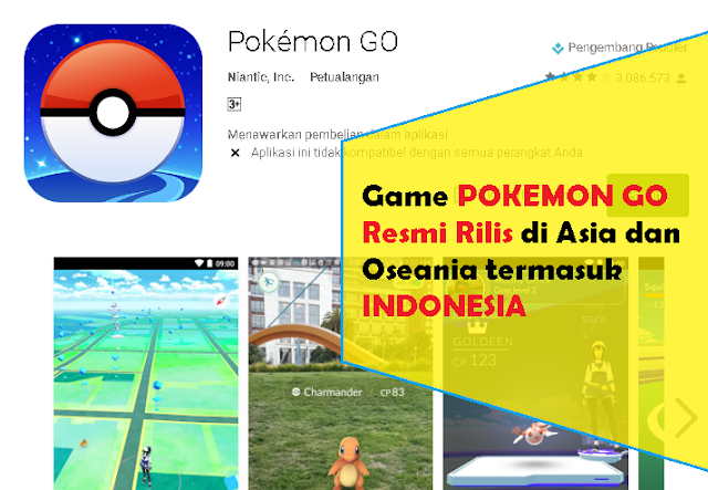 Pokemon Go Bisa Download di Indonesia