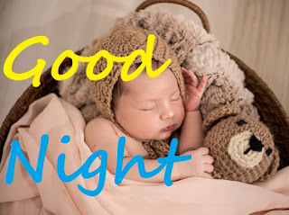 cute baby saying good night images