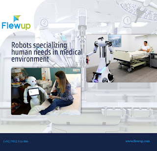Robots Specializing In Healthcare Department