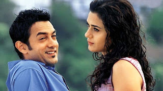 Aamir Khan and Preity Zinta from Dil Chahta Hai