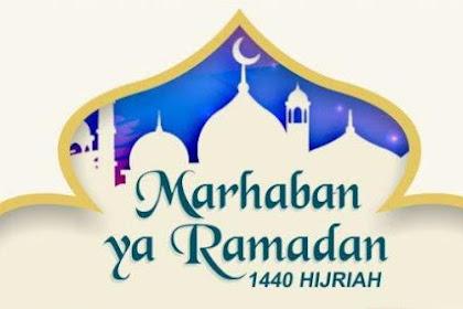 50 Gambar Ucapan Selamat Puasa Ramadhan 2019 / 1440 H Untuk Status WA