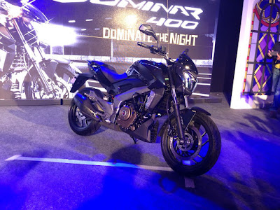 Bajaj Dominar 400 Midnight Blue