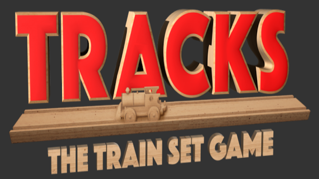 Tracks the Train Set Game Logo