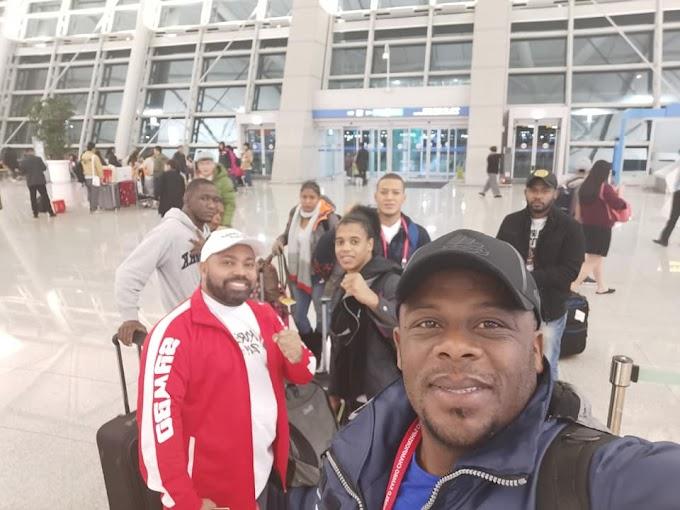 SAMBO Dominicano está en Panamericano 2021 en Colombia