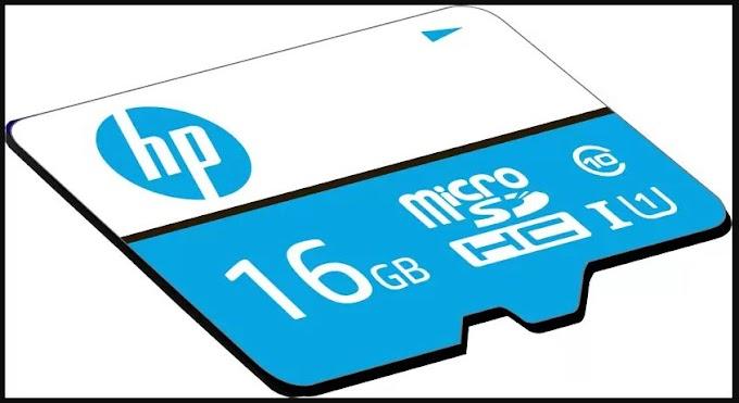 50% की छूट पर 16 जीबी HP मेमरी कार्ड