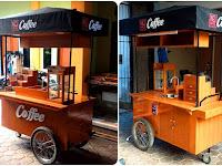 Gerobak kopi keliling - Gerobak Kopi unik - Jasa pembuatan gerobak kopi