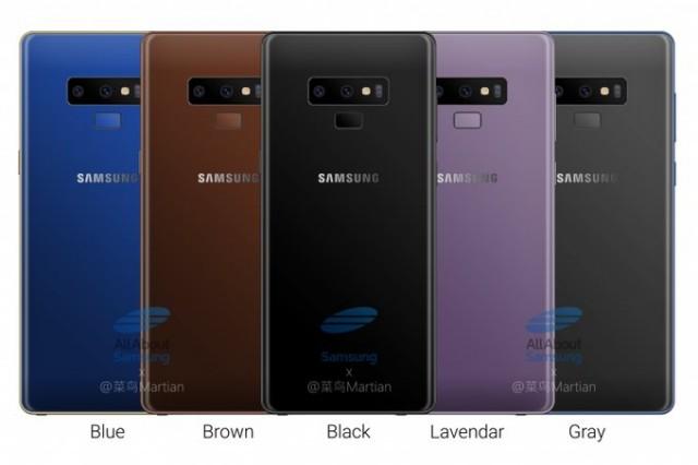 Samsung Galaxy Note 9 Terbaru