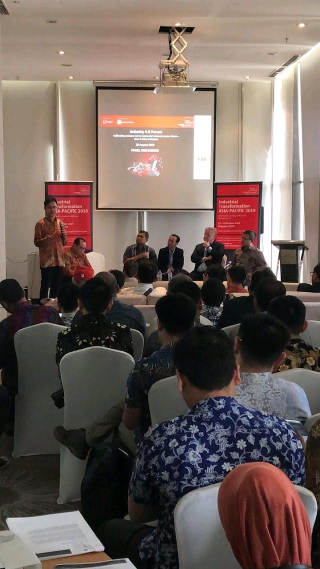 Kegiatan Industrial Transformation Asia Pacific - 29 Agustus 2019