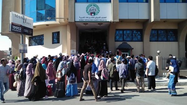 Demi Beasiswa BZ, 432 Orang Padati Kantor BZ bahkan Sejak Dini Hari