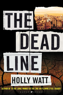 The Dead Line by Holly Watt book cover