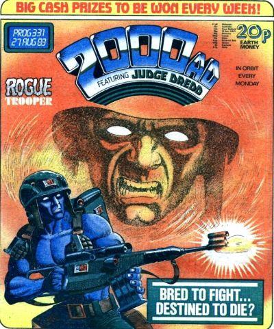 2000 AD prog 331, Rogue Trooper