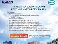 Lowongan Kerja PT Wijaya Karya (Persero)