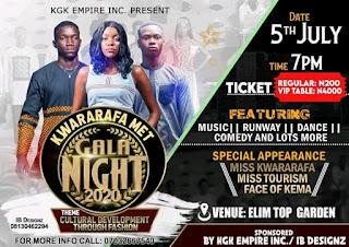 KGK Empire Presents 2020 Kwararafa Met Gala Night