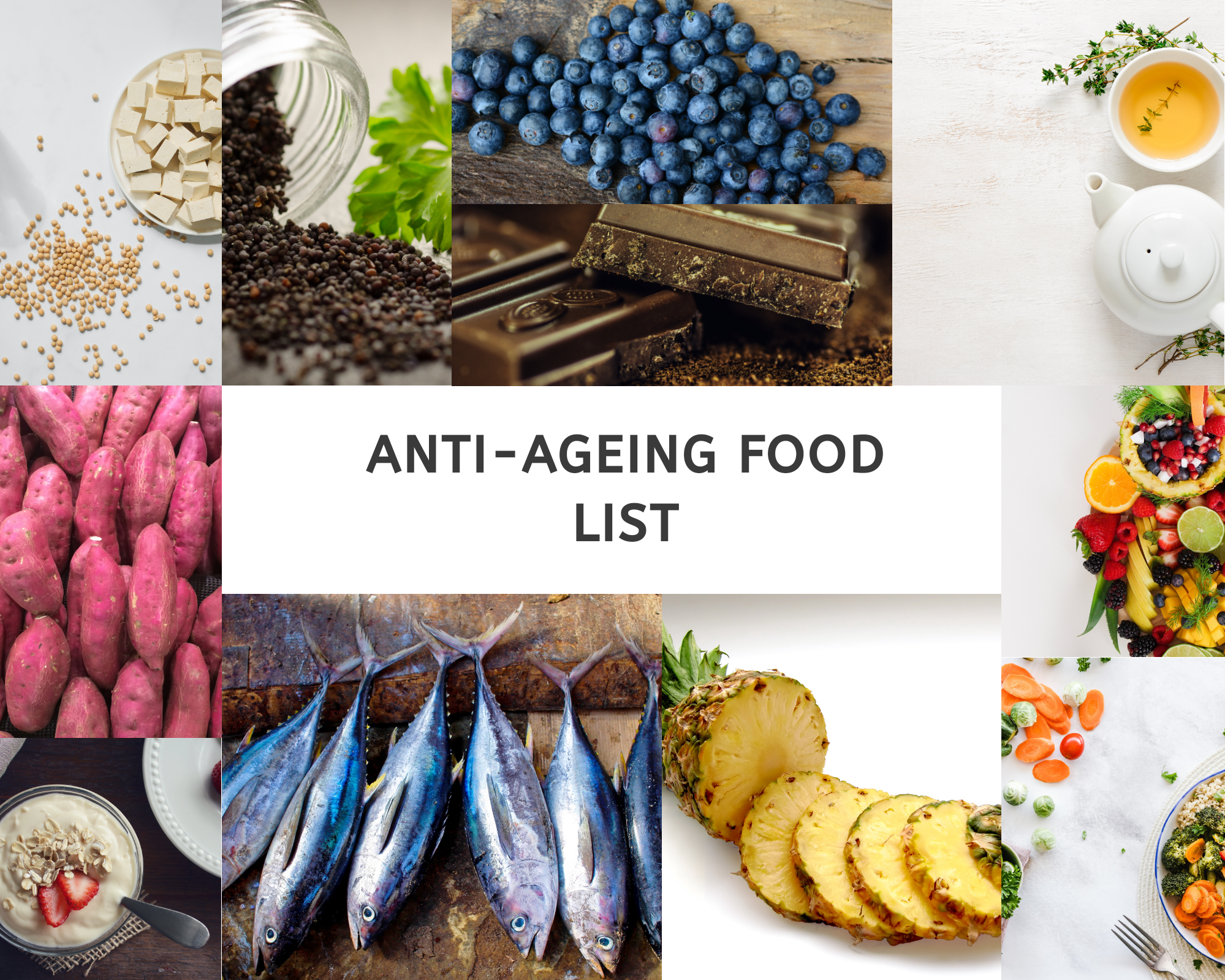 Best anti ageing food for skin