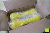 Verpackung öffnen: Songmics 1 Paar Neopren Kurzhanteln verschiedene Gewichte und Farben auswählbar
