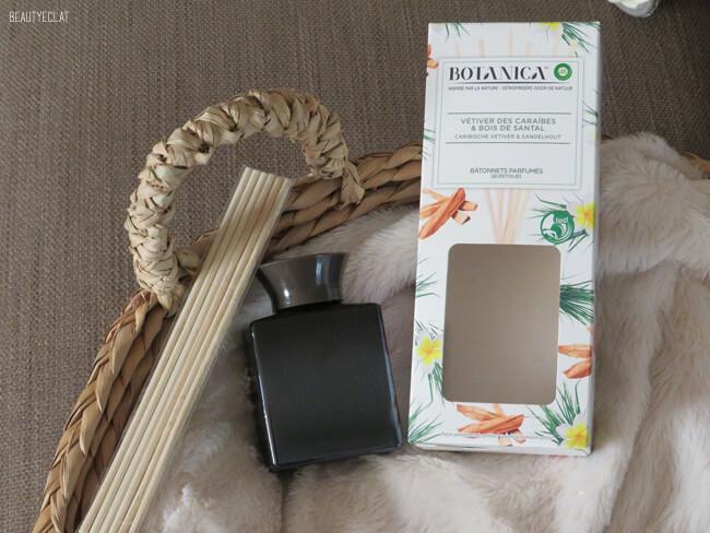 test batonnets parfumes botanica