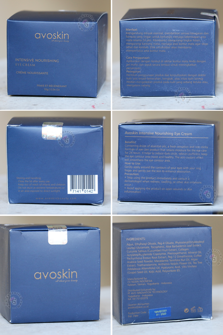 Avoskin Eye Cream Review