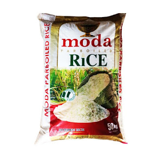 Moda Parboiled Rice  is a Nigerian rice with a great taste