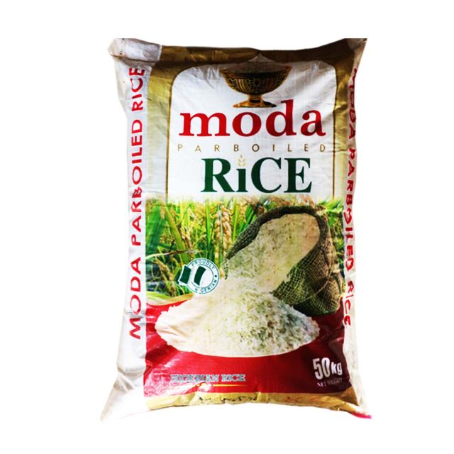 Moda Parboiled Rice 50kg Bag