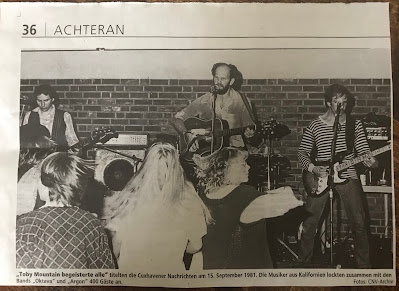 Toby Mountain 1981 im Haus der Jugend in Cuxhaven