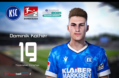PES 2021 Faces Dominik Kother by CongNgo