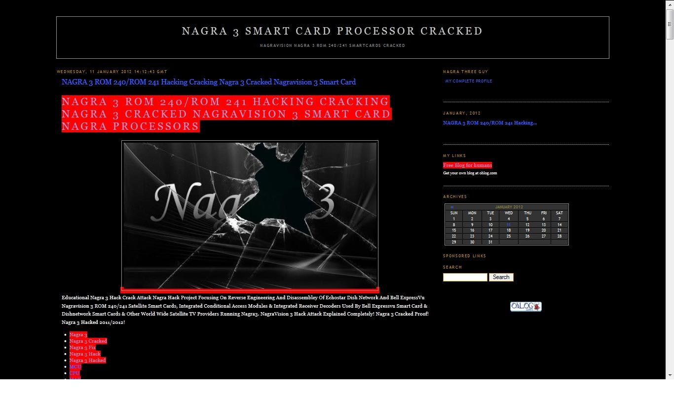 Nagra 3 Bookmarks: 2012