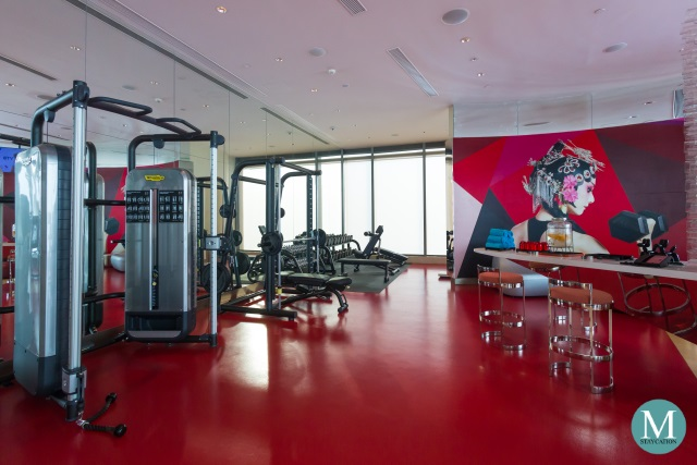 Fitness Center at W Hotel Suzhou