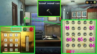 осуществляем поиск предметов и получим зеленый ключ в игре загадки нью - йорка пробуждение