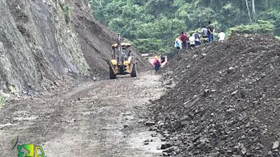Reabren la vía entre Choco y Risaralda después de dos derrumbes que interrumpieron el tránsito en las últimas horas