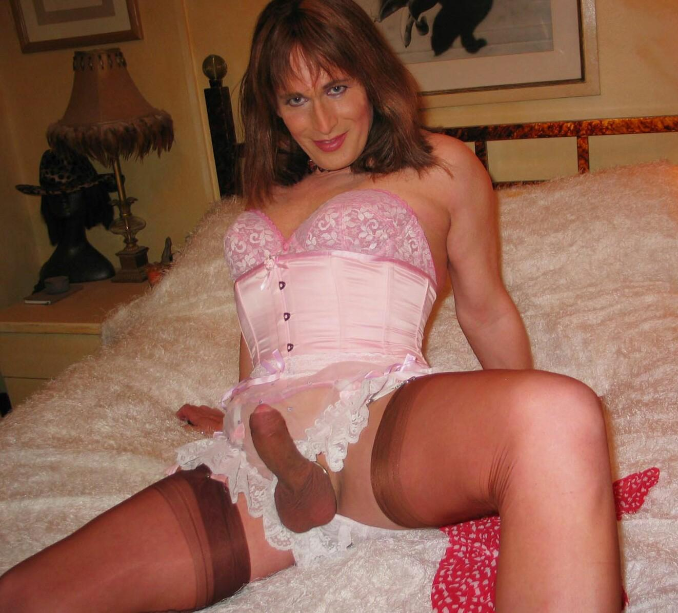Crossdresser girdle captions apologise