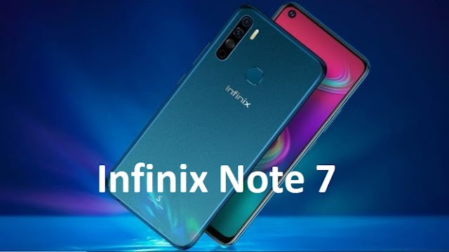 Infinix Note 7 With MediaTek Helio G70 SoC Launched in India