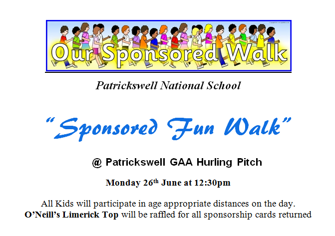 Patrickswell N.S. Online: Sport for All Day in the 'Well!