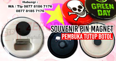 buat Magnet Pin, pin magnet alumunium, Pin Magnet bukaan Botol, Pin magnet diameter 58mm, Pin magnet diameter 58mm dengan harga termurah