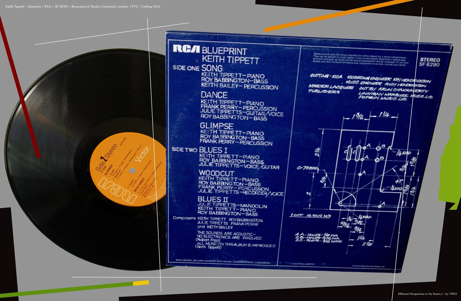 Different perspectives in my room keith tippett blueprint lp coming straight after the gigantic septober energy as it did blueprint must have come as a bit of a surprise for many of keith tippetts fans malvernweather Choice Image