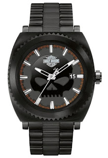 Harley Davidson Men's Bulova Watch, Willie G. Skull 78B135