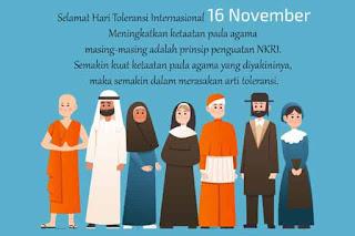 wallpaper hari toleransi internasional