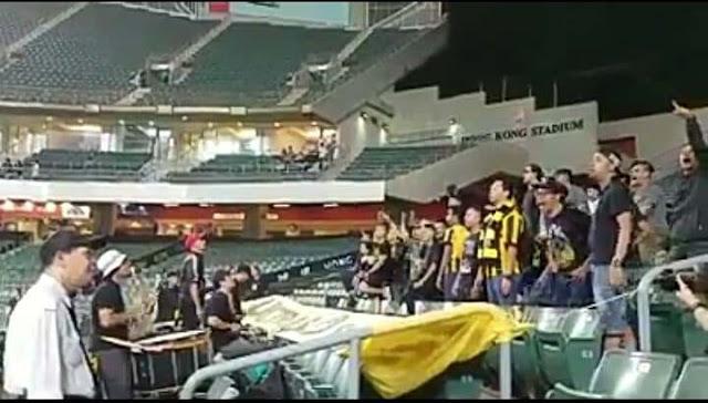 TMJ Tidak Rasa Sakit Hati Dengan Chant Ultras Malaya, Tetapi Mahu Jumpa Budak Topi Merah?