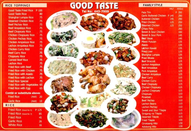 Baguio Taste City Good Restaurant