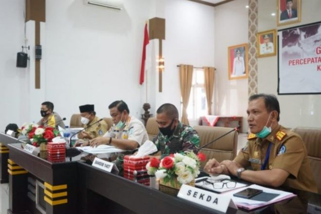Posko Perbatasan Gugus Tugas COVID-19 Bone ditarik Mulai 18 Juni 2020