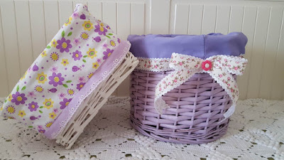 How to line a basket in 15 minutes or less