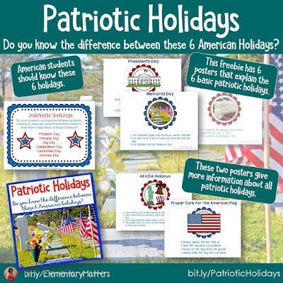 https://www.teacherspayteachers.com/Product/Patriotic-Holidays-A-Freebie-248327?utm_source=blog%20post%20presidents%20day&utm_campaign=Patriotic%20Holidays