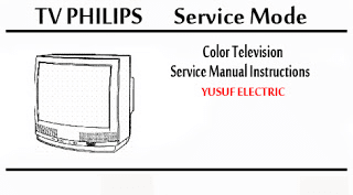 Service Mode TV PHILIPS Berbagai Type
