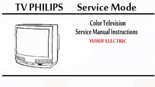 Service Mode TV PHILIPS Berbagai Type