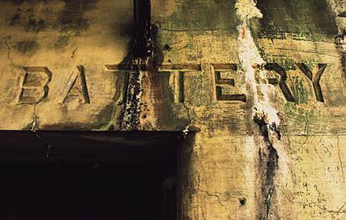 Battery Harvey Allen Washington