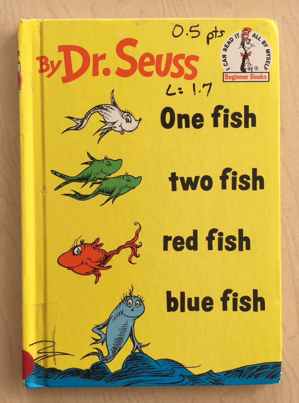 Dr Seuss Counting Fish Worksheet