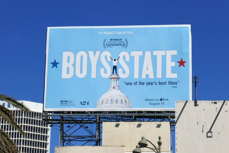 Boys State movie billboard