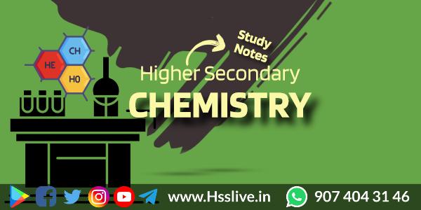 hsslive chemistry notes