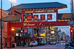 Menikmati Suasana China Town Bandung