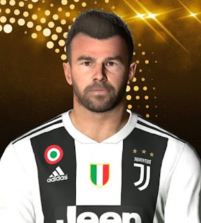 PES 2017 Faces Andrea Barzagli by Facemaker Ahmed El Shenawy