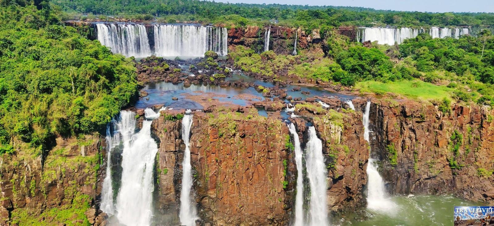 Brésil les chutes d'Iguaçu
